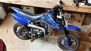 Coolster 49cc Mini-Bike Dirt Bike - Blue/Whte